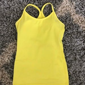 Lululemon Power Y yellow tank 4